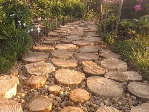 6 красивых садовых дорожек для украшения дачного участка