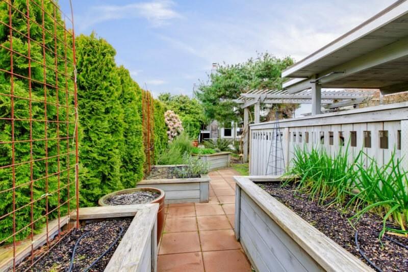 22 идеи обустройства огорода, или Как сделать ваш участок настоящим декоративным раем