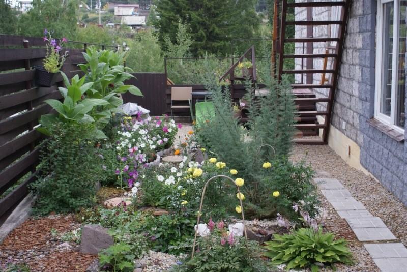 Я мечтала создать красивые зоны отдыха на своем участке. Посмотрите что получилось