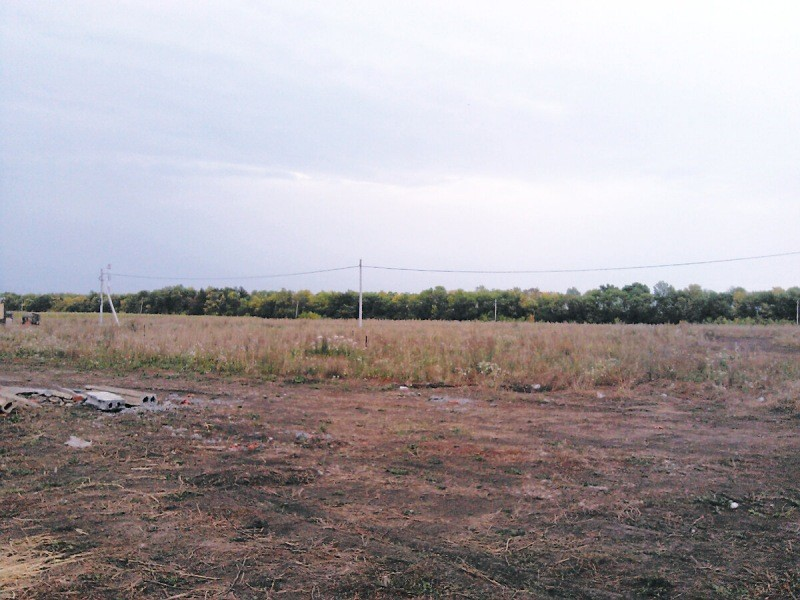 Наш участок в 10 соток для загородной жизни. Оказалось земли впритык...